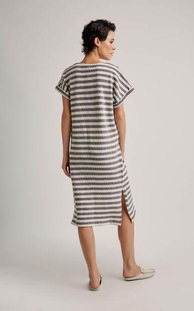 vestido-listras-listrado-tamanho-M-Costas