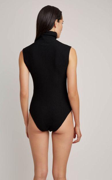 body-gola-alta-tricot-preto-tamanho-P-Costas