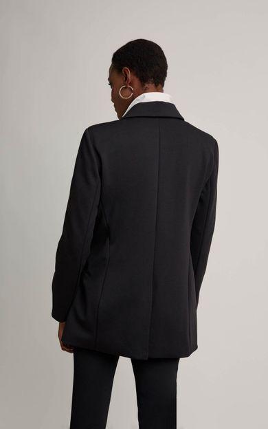 blazer-malha-preto-tamanho-P-Costas