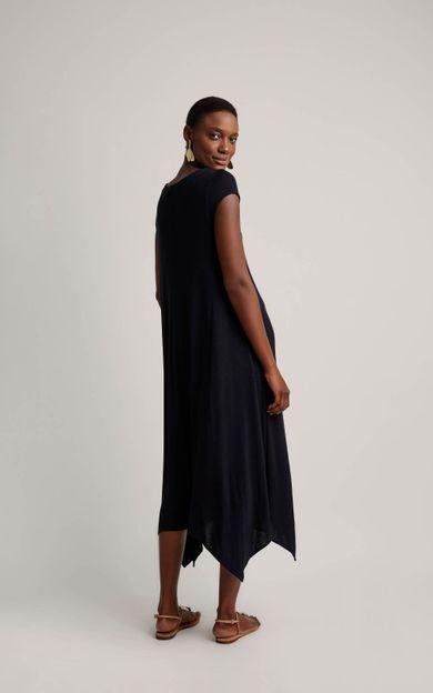 vestido-malha-pontas-preto-tamanho-P-Costas