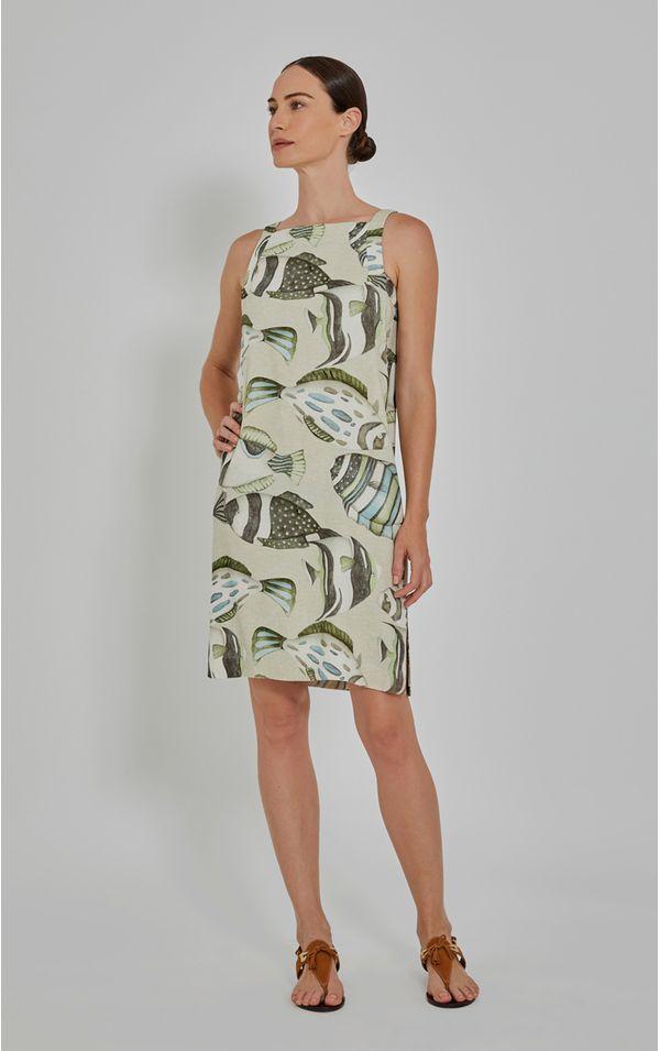 Vestido Recorte Cava Cardume - Lenny Niemeyer